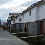 江戸・明治期の面影残す、倉吉市の「白壁土蔵群」に行ってきました。