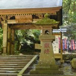 安来の清水寺に今年3回目の厄よけお守りを買いに行ったら猫が・・・