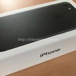 iPhoneSEではなくiPhone7に機種変更しました。