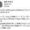 Apple、iPhone7/7Plusと6sの不具合を修正する『iOS11.0.3』を公開