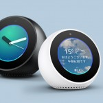 Amazonがディスプレイを搭載したスマホ寄りスマートスピーカー『Echo Spot』を発売へ!
