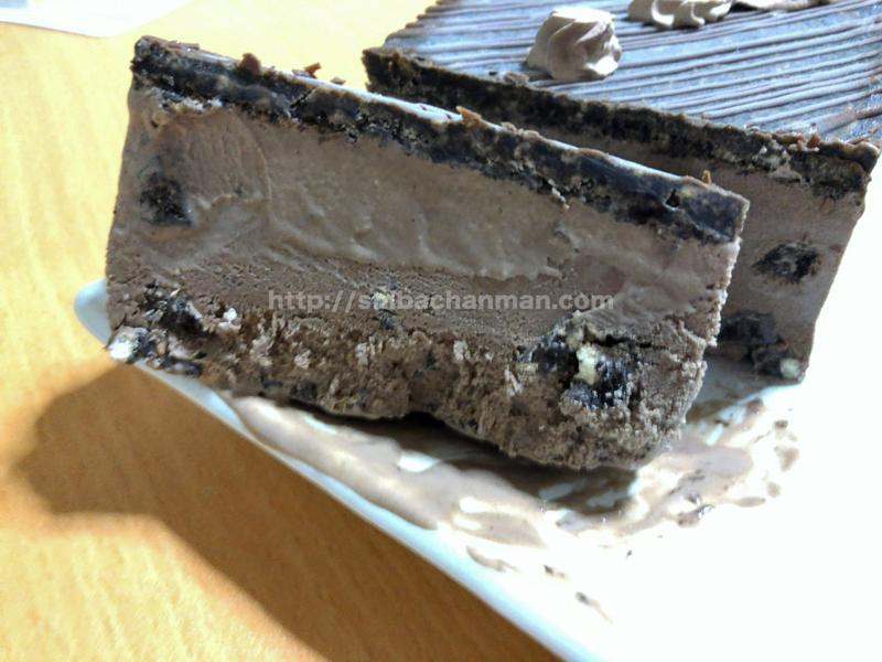ブラックサンダーアイスケーキ 感想