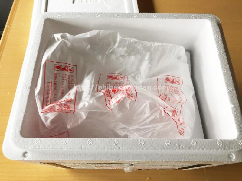 ブラックサンダーアイスケーキ 保冷ボックス