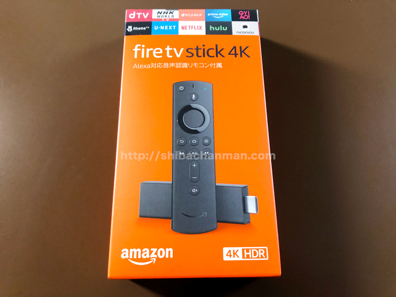 Fire TV Stick 4K 違い