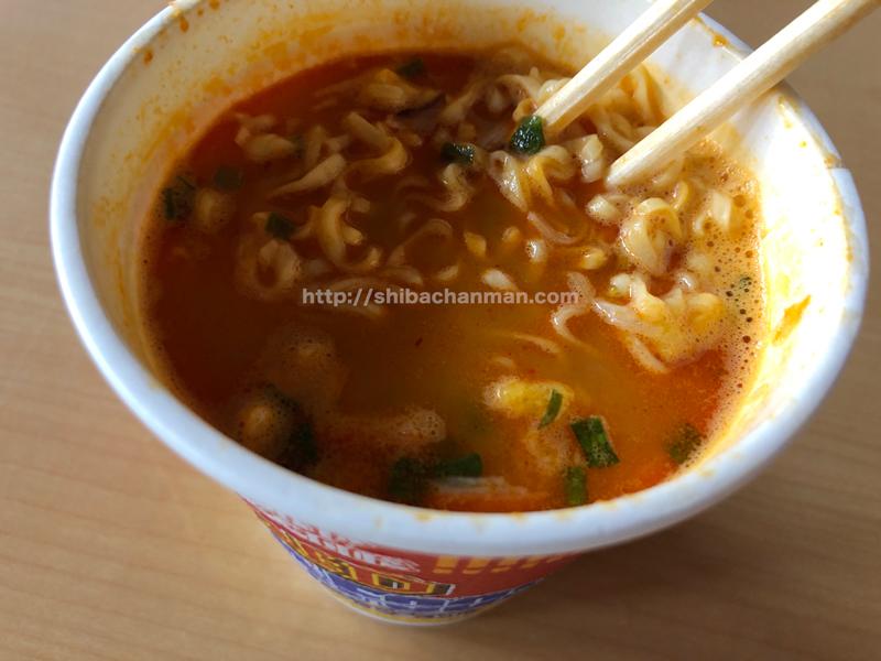 レッドシーフードヌードル スープ