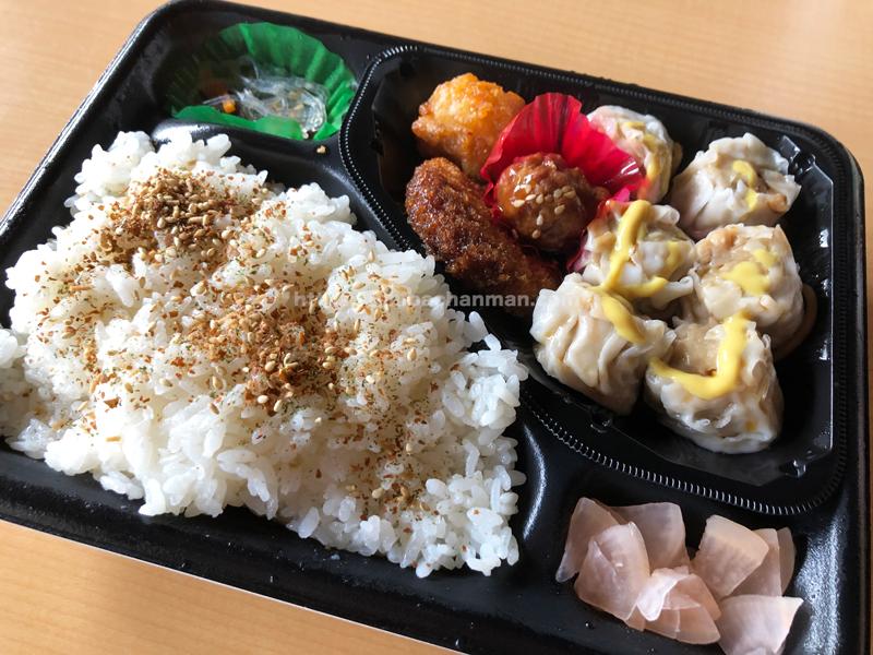 ローソンポプラ 焼売弁当 鳥取県