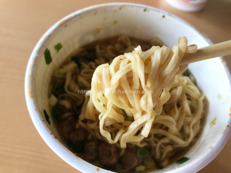 カップヌードル  謎肉祭 麺