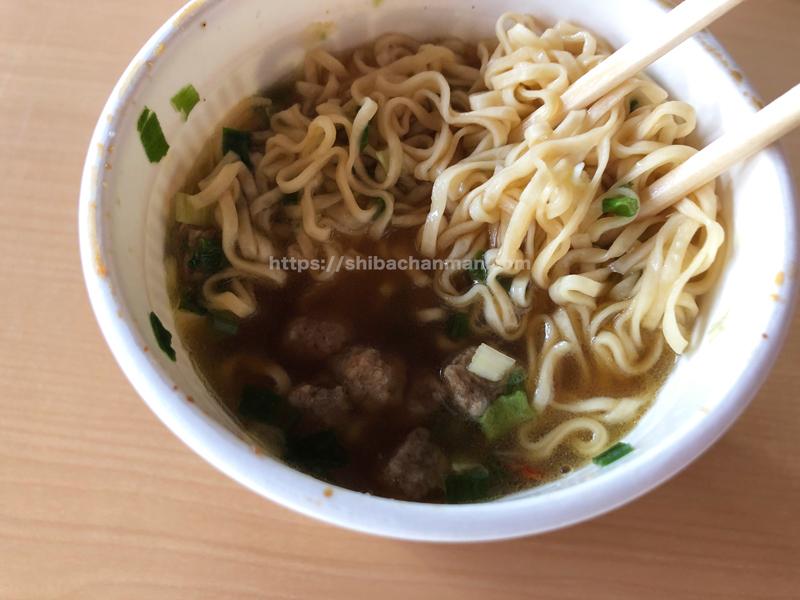 カップヌードル  謎肉祭 スープ