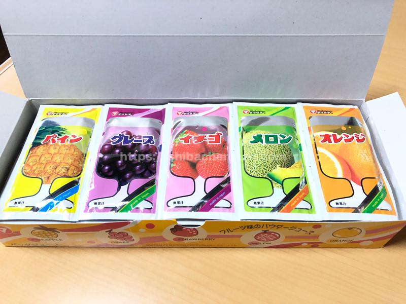松山製菓 粉末ジュース フルーツ