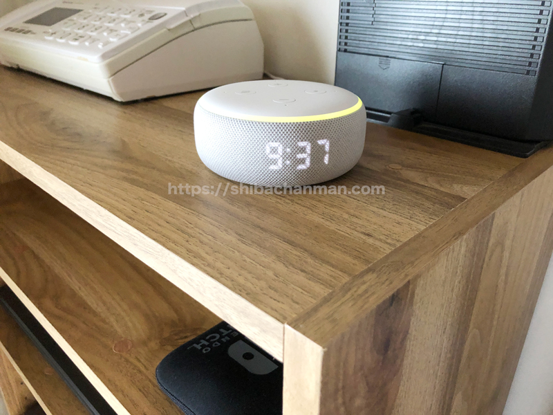 Echo Dot with clock 感想
