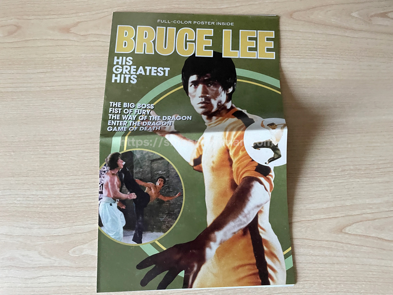 Bruce Lee: His Greatest Hits ブックレット